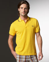 fred-perry-twin-tipped-polo-maize