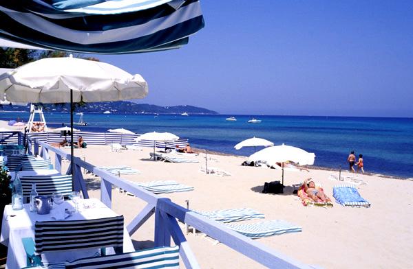 Najljepše plaže na svijetu - Plage de Tahiti - Saint-Tropez