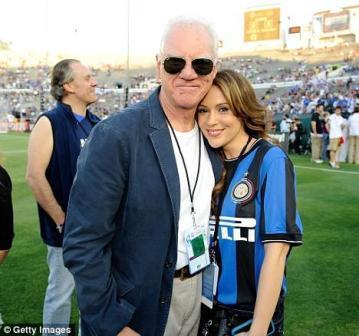 Alyssa Milano i Malcolm McDowell navijali su za Inter
