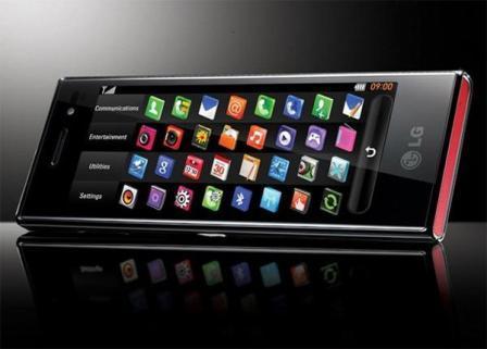 LG čokolada mobitel -1