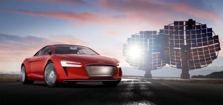 Auto Audi e-tron koncept-1