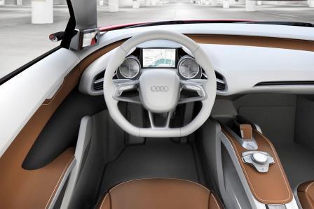 Auto Audi e-tron koncept-5