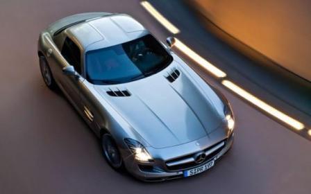 Mercedes Benz - 2010 SLS AMG-2
