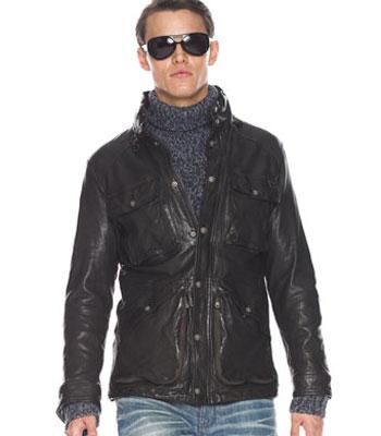 Michael Kors muška kožna jakna