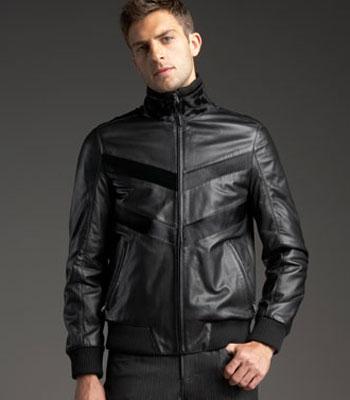 Versace  muška kožna jakna
