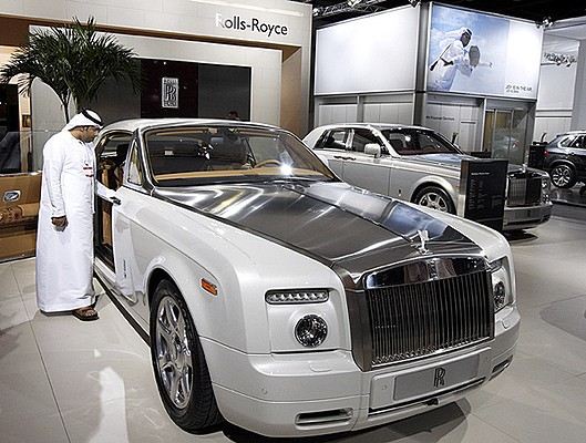 The Rolls Royce Phantom