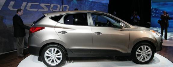 Novi Hyundai Tucson -auto Hyundai Tucson