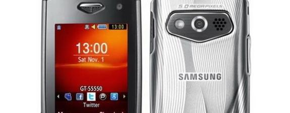 mobitel - Samsung Shark S5550