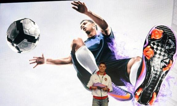 Cristiano Ronaldo predstavio kopačke Nike