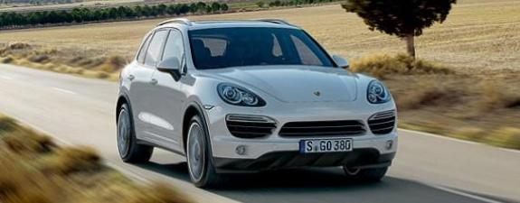 Porsche - 2011 Cayenne S Hybrid-1