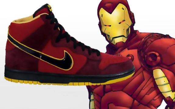 I Nike uz Iron Man-a