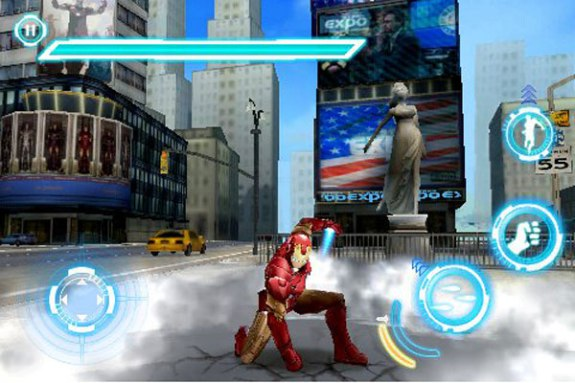 Iron Man 2 iPhone i iPad igrica-1