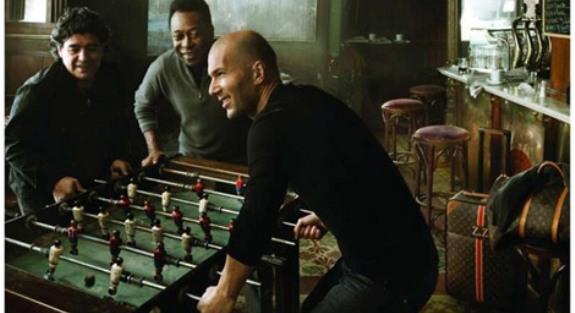 Louis Vuitton - Zidane, Pele i Maradona-1