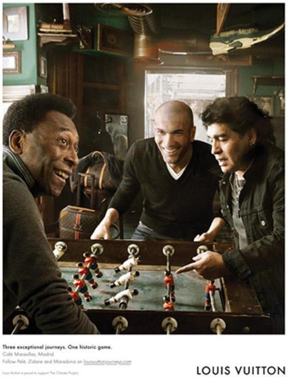 Louis Vuitton - Zidane, Pele i Maradona-5
