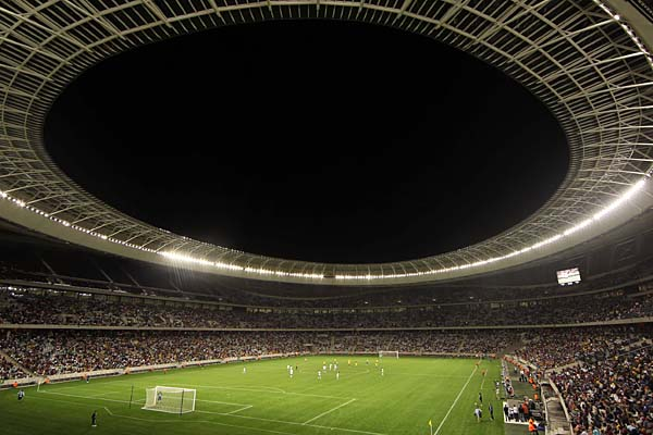 Unutrašnjost Cape Town stadiona