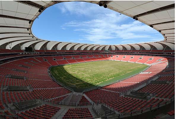 Unutrašnjost Nelson Mandela Bay stadiona