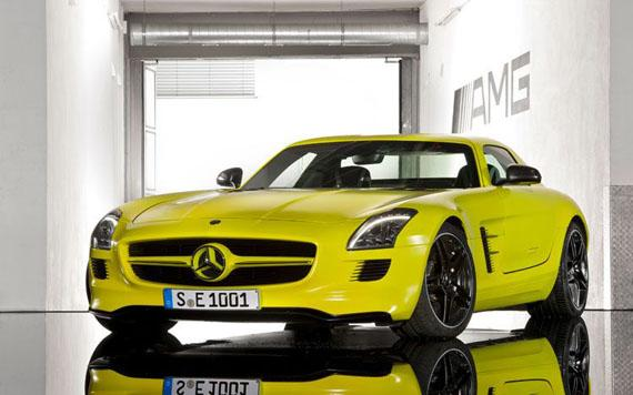 Mercedes Benz SLS AMG E Cell-2