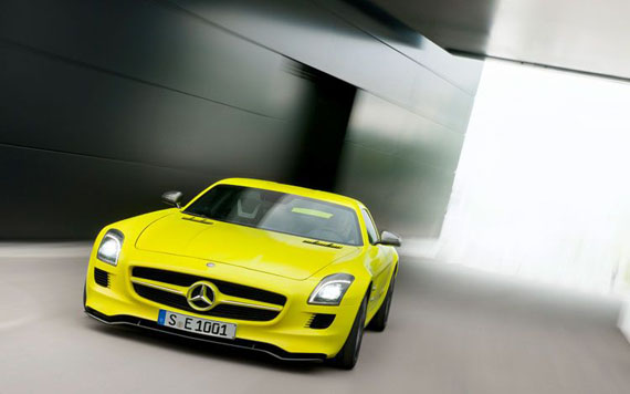 Mercedes Benz SLS AMG E Cell-3