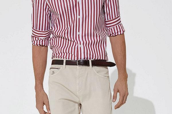 Muška moda – bež hlače