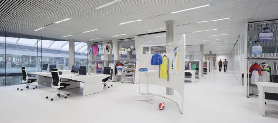 Najnoviji dizajn ureda u Adidasu