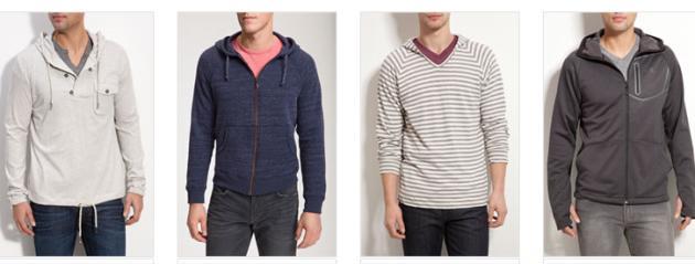 Muške sportske jakne i majice za proljeće