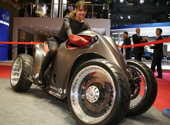 Top 10 ekstremnih motocikala