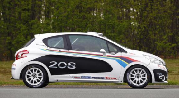 Peugeot predstavio 208-icu za utrke