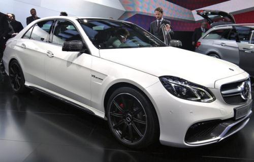 Mercedes-Benz E 63 AMG S 4Matic