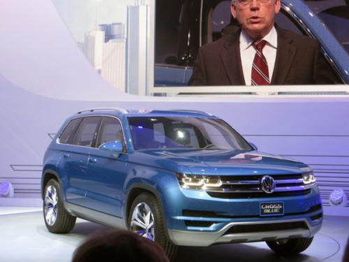 Volkswagen Cross Blue koncept