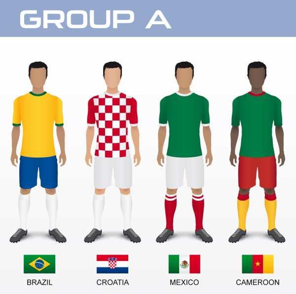 Raspored utakmica Hrvatske nogometne reprezentacije na Svjetskom prvenstvu u Brazilu 2014.