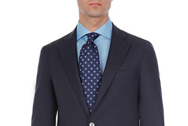 Moderne kombinacije plave košulje i kravate