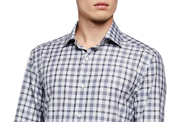 Moderni uzorci na muškim košuljama