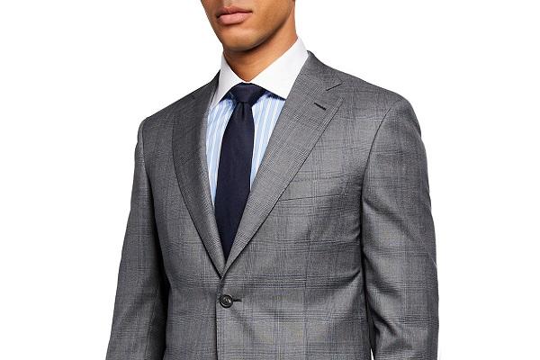 Moderna muška siva odijela