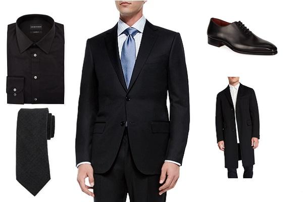 Što kombinirati uz crno odijelo?